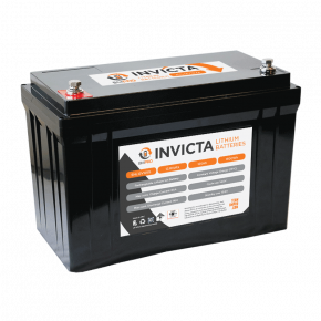 Invicta lithium battery LiFePO4 125A