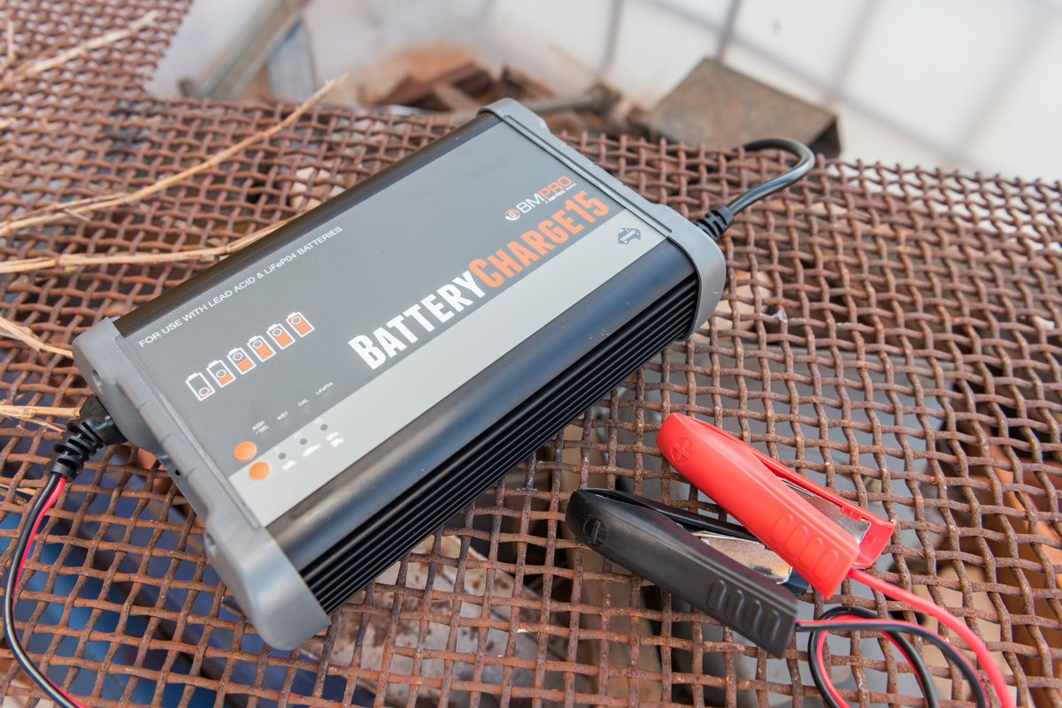 Australian Made Lithium Battery Charger BatteryCharge15