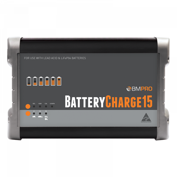 12V 15A Battery Charger Made in Australia