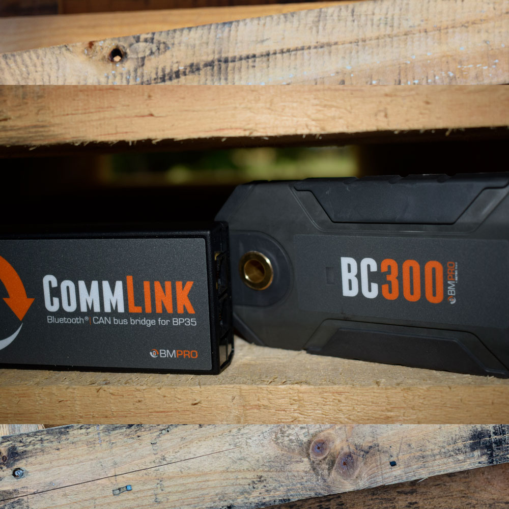 External shunt BC300 with CommLink