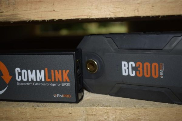BC300 external shunt with CommLink Can Bus