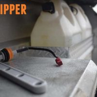 Caravan Water level Indicator Dipper connection.