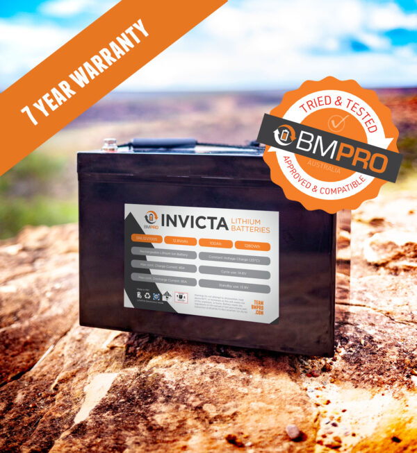 Lithium deep cycle battery BMPRO Invicta 100Ah