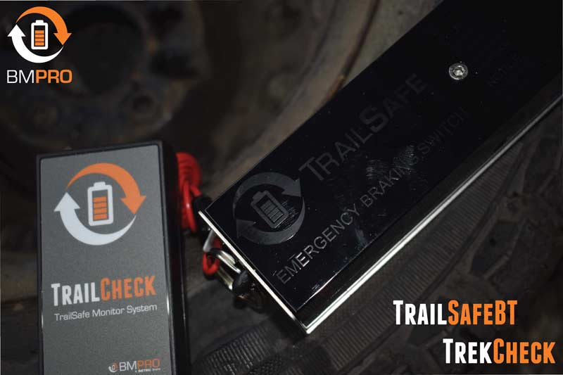 TrailCheck an additional remote trailer battery monitor system