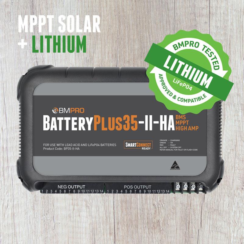 high amp battery management system BatteryPlus35-II-HA
