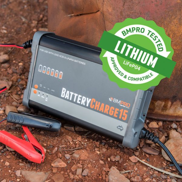 15 Amp Battery Charger Australian Made Lithium Compatible