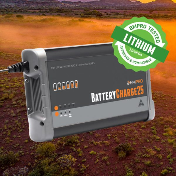 25 Amp Battery Charger Australian Made