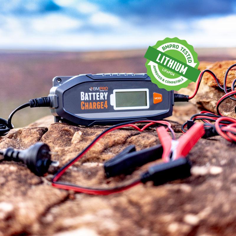12V 4 Amp battery charger BatteryCharge4