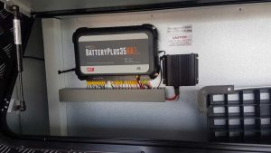 BatteryPlus35 power management system by BMPRO installed with DC-DC boost-charger Miniboost