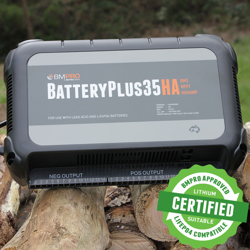 High Amp Battery Management System BatteryPlus35HA