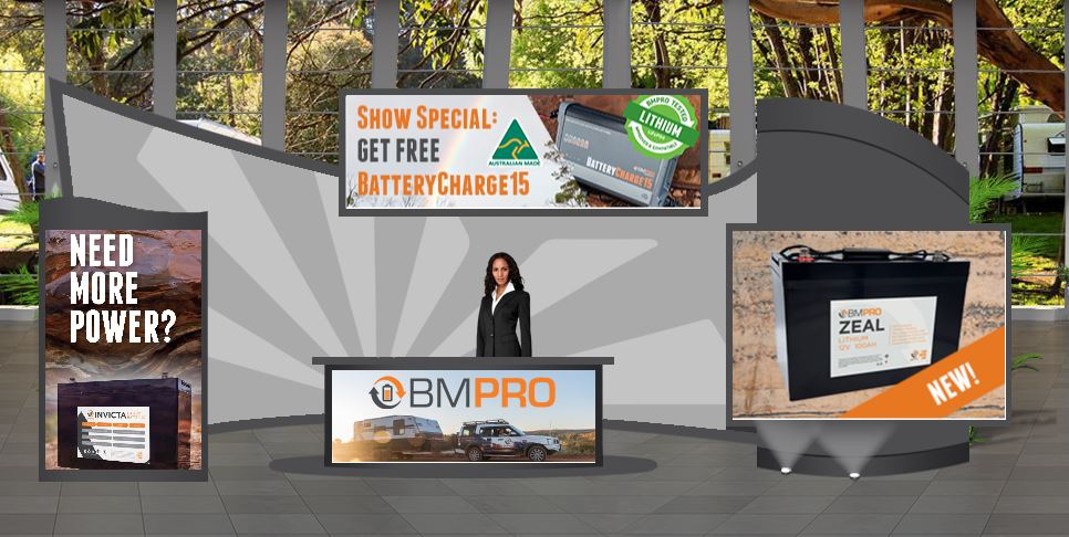 BMPRO booth at virtual show