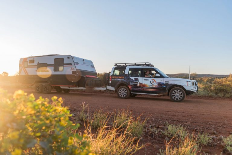 Jayco Adventurer is a smart RV towed and powered by BMPRO
