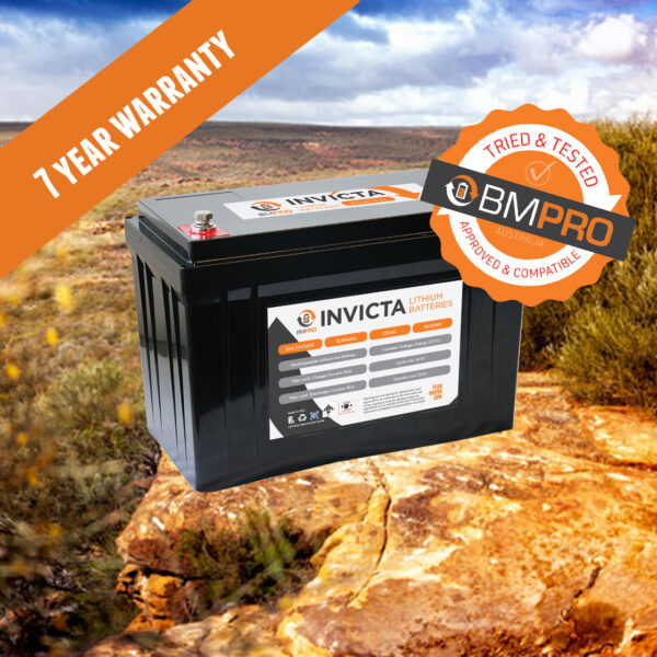 BMPRO Invicta 12V Lithium battery