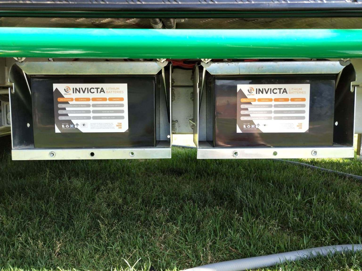 Lithium batteries for caravans bring more power for off grid camping