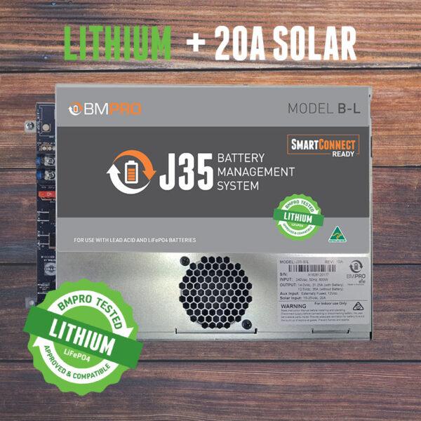 J35B-L intelligent battery management system compatible with lithium batteries