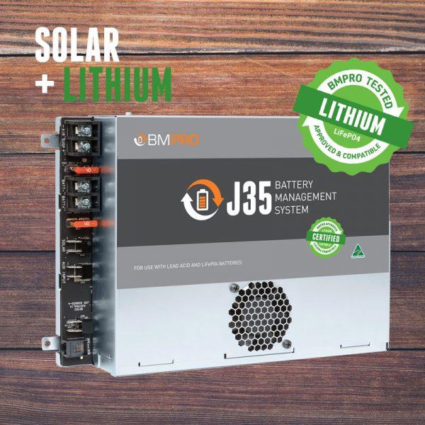 Lithium compatible battery management system J35D