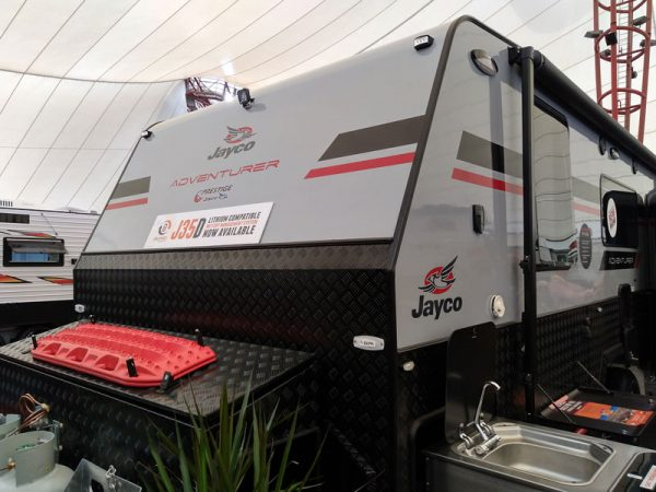 Jayco Adventurer comes supplied with Sentry Lithium batteries and J35D