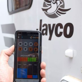 JHub app allows Jayco caravan owners monitor and control caravan features from their smartphone
