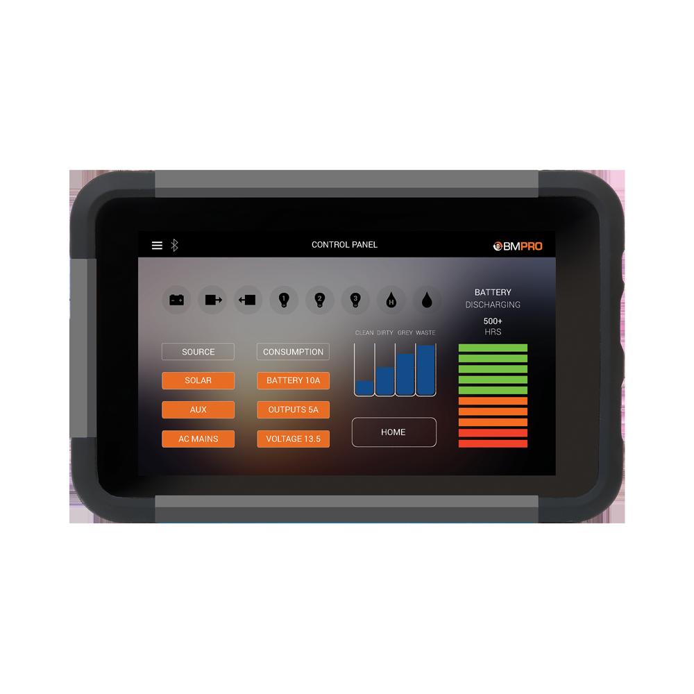 Rv Battery Monitor Panel : Bmpro jhub rv control panel battery monitors