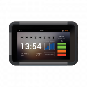 JHub battery management tablet