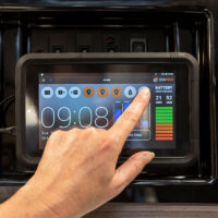 RV Control Panel JHub installed in Jayco Silverline caravan