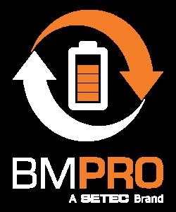 BMPRO Setec brand logo vertical
