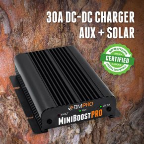 DC-MiniBoostPRO - DC charger with solar input