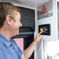 Odyssey installed in New Age caravan