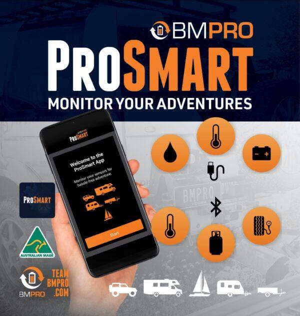 ProSmart Sensor Monitor with app