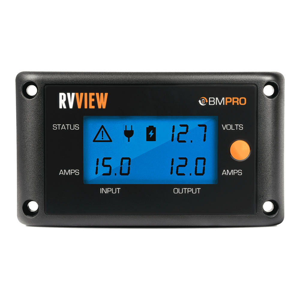 Rv Battery Voltage Monitor : Bmpro rvview v battery monitor