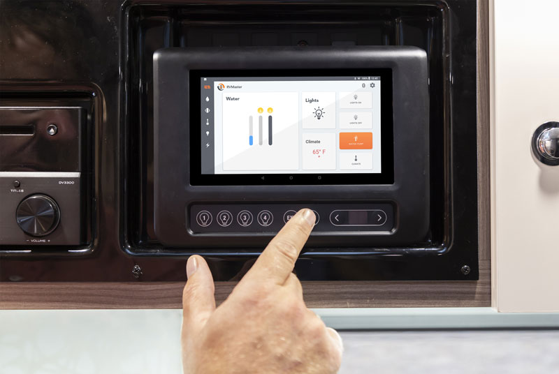 RVMaster RV Monitor - Australian smart RV technology now available in USA