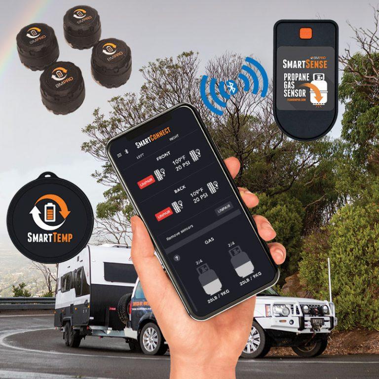 SmartConnect bluetooth sensors