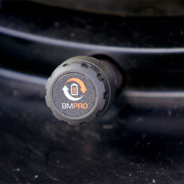 SmartPressure tyre pressure monitoring sensor installed