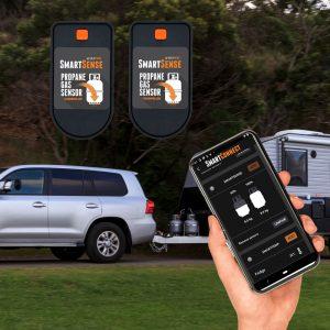 A pair of gas bottle level sensors SmartSense Premium