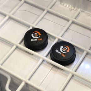 Bluetooth temperature sensors in the fridge