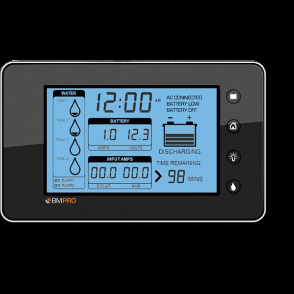 RV battery monitor Trek