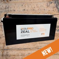 BMPRO Zeal 12V 200Ah Lithium Battery