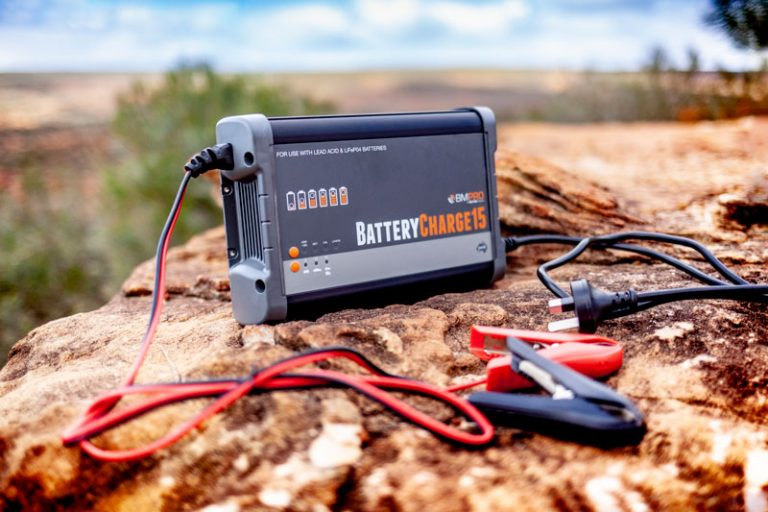 Use BMPRO BC15 for lithium battery charging