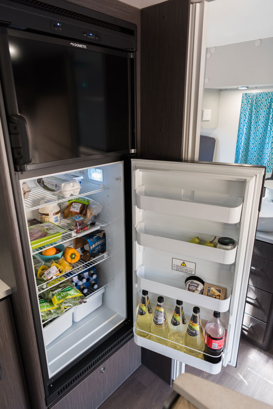 Fridge is a must-have appliance for camping off grid