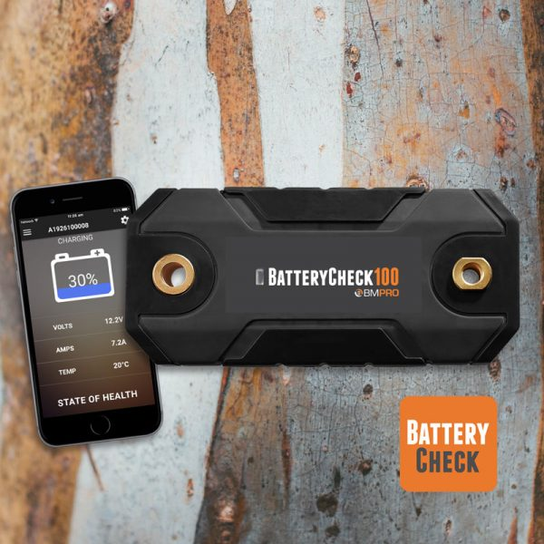 Bluetooth battery monitor BatteryCheck100