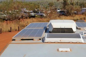 Install solar panels for off the grid travel