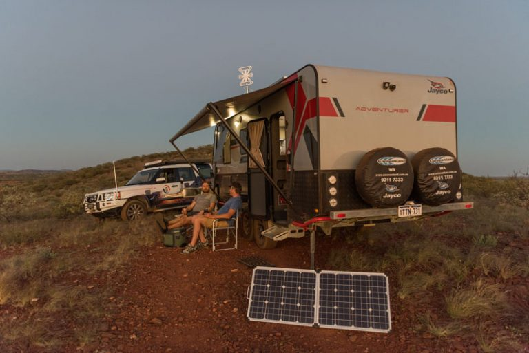 Going camping? Take solar panels