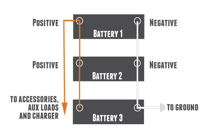 how to connect lithium batteries in parallel