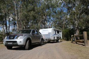 power your caravan both with solar and mains